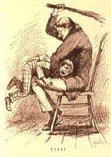 Как правило, люди, не обученные грамотному общению (и воспитанию детей), склонны переносить. недовольство поступком...