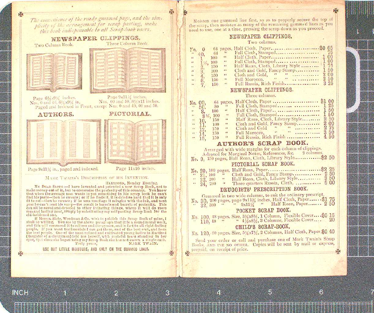 ADVERTISING PAMPHLET: PAGES 2 AND 3