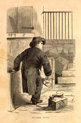 an analysis of symbolism in ragged dick by horatio algers Literary analysis of the novel ragged dick by horatio alger success classics ragged dick (1867) horatio alger the new york city of the mid-19th an analysis of symbolism in ragged dick by.