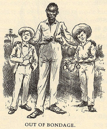 The role of huck and jim in the plot of mark twains the adventures of huckleberry finn