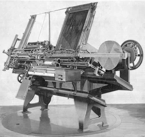 typesetting machine